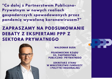 Online o partnerstwie publiczno-prywatnym – relacja z debaty ekspertów